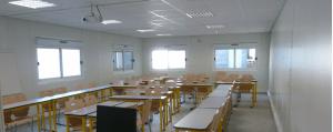construction modulaire salle de classe préfabriquee
